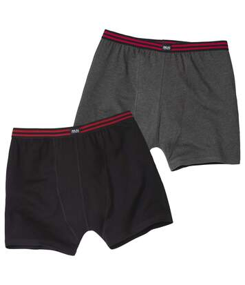 Pack of 2 Men's Comfort Stretch Boxers