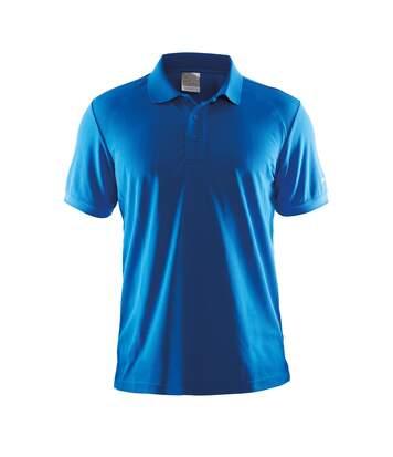 Craft Mens Classic Pique Short Sleeve Polo Shirt (Swedish Blue) - UTRW5551