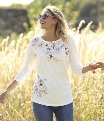 T-Shirts Fleurs
