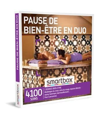 SMARTBOX - Pause de bien-être en duo - Coffret Cadeau Bien-être