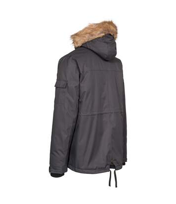 Trespass Mens Mount Bear Parka Jacket (Black) - UTTP4513