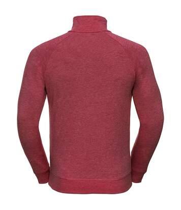 Russell Mens HD 1/4 Zip Sweatshirt (White) - UTRW5503
