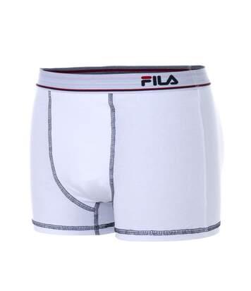 Boxer Coton Fila Blanc