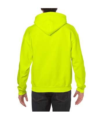 Gildan Heavy Blend Adult Unisex Hooded Sweatshirt / Hoodie (White) - UTBC468