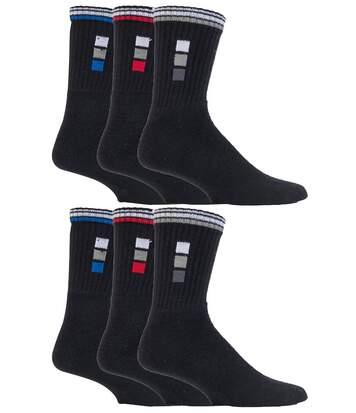6 Pk Mens Breathable Cotton Bigfoot Sports Socks
