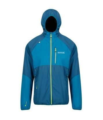 Regatta Mens Tarvos II Hooded Softshell Jacket (Majolica Blue/Sea Blue) - UTRG4164