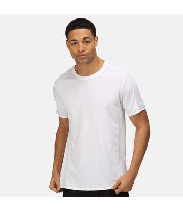 Regatta Activewear Mens Beijing Short Sleeve T-Shirt (White/White) - UTRG2489