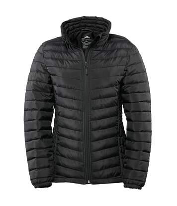Tee Jays Womens/Ladies Padded Zepelin Jacket (Black) - UTBC3335