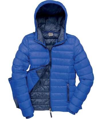 Veste matelassée - doudoune femme R194F - bleu roi