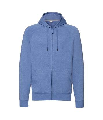 Russell - Sweat-Shirt À Capuche Hd - Homme (Bleu chiné) - UTRW6076