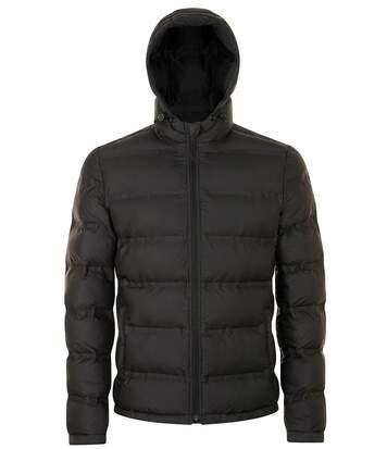 Doudoune à capuche homme - 01622 - noir