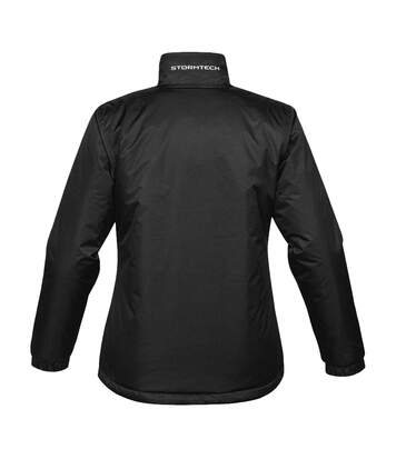 Stormtech Ladies/Womens Axis Water Resistant Jacket (Black/Sundance) - UTBC2080