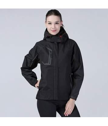 Spiro Womens/Ladies Nero Premium Outdoor Sports Jacket (Waterproof & Breathable) (Black) - UTRW1453