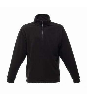 Regatta Thor Overhead Half Zip Anti-Pill Fleece Top (170 GSM) (Black) - UTBC810