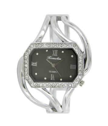Montre Femme CAMELIA bracelet Acier Argenté
