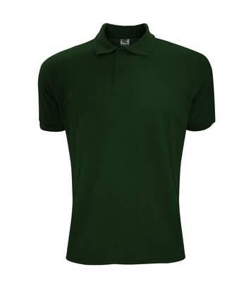 SG Mens Polycotton Short Sleeve Polo Shirt (Bottle Green) - UTBC1084