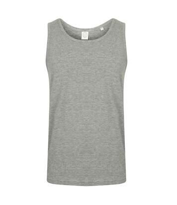 SF Mens Feel Good Stretch Vest (Heather Grey) - UTPC3020
