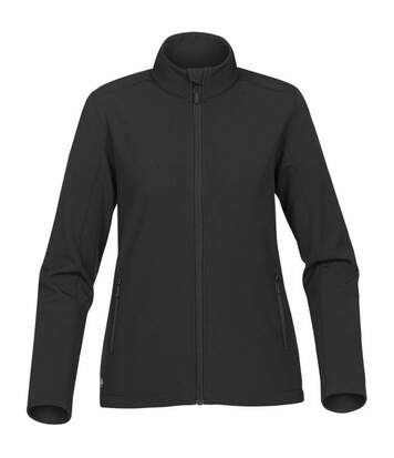 Stormtech Womens/Ladies Orbiter Softshell Jacket (Black/Carbon) - UTBC4124