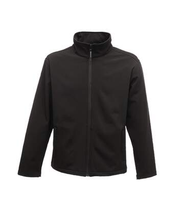 Regatta Classic Mens Water Repellent Softshell Jacket (Black) - UTRG2166