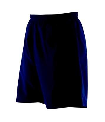 Finden & Hales - Short De Sport - Femme (Bleu marine) - UTRW450