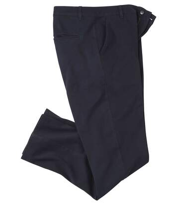 Men's Navy Stretch Twill Chinos