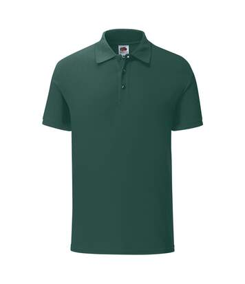 Fruit Of The Loom Mens Iconic Pique Polo Shirt (Forest Green) - UTPC3571