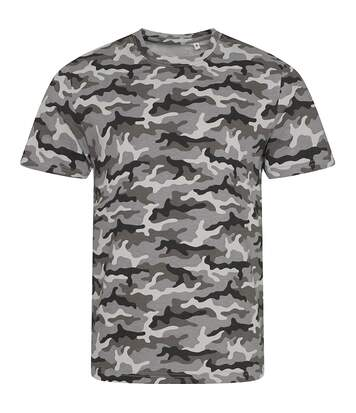 Awdis - T-Shirt Camouflage - Homme (Gris) - UTPC2978