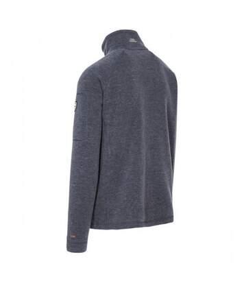 Trespass Mens Instigate Full Zip Fleece Jacket (Navy Melange) - UTTP3652