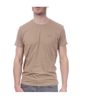 T-Shirt Beige Homme Lee Cooper OSLO