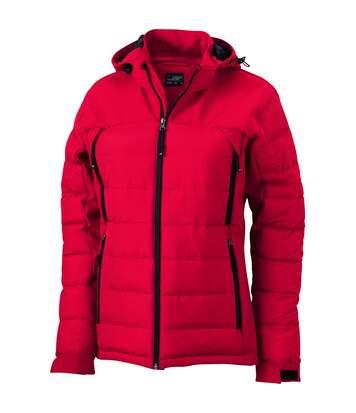 Veste matelassée Femme - anorak ski neige - JN1049 - rouge