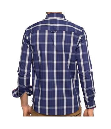 Chemise à carreaux manches longues