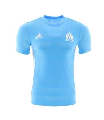 OM Maillot extérieur bleu homme Adidas