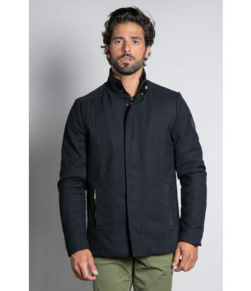 Manteau mi-long uni CARE Dark Midnight