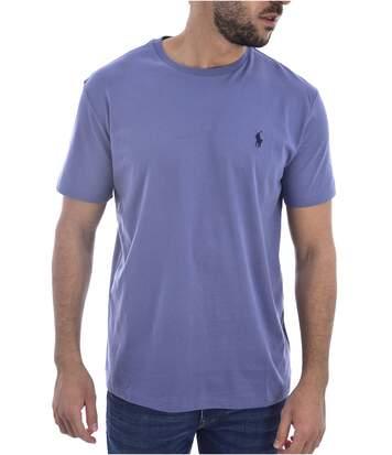 Tee Shirt Basique Logo Brodé  -  Ralph Lauren