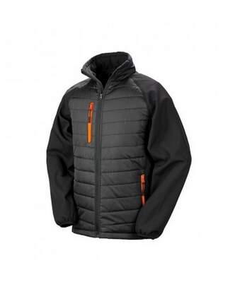 Result - Doudoune Softshell Compass - Homme (Noir / orange) - UTPC3326