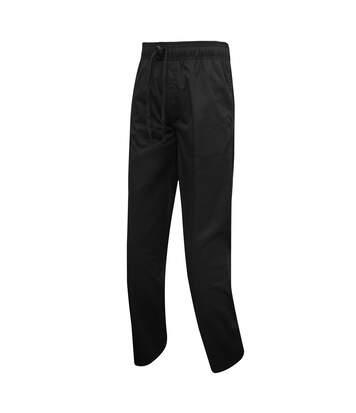 Premier Mens Chefs Select Slim Leg Trousers (Black) - UTRW5521