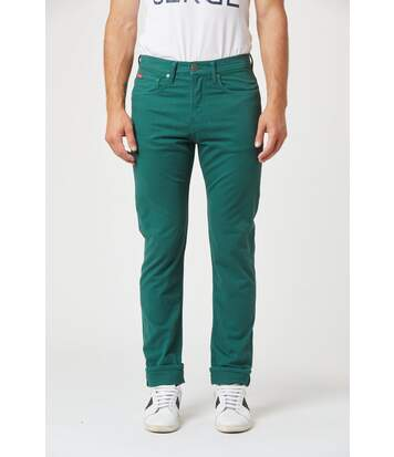 Pantalon coton straight taille haute LC126