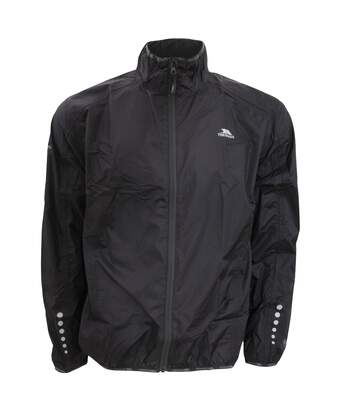 Trespass Mens Grafted Waterproof & Windproof Packaway Active Jacket (Black) - UTTP309