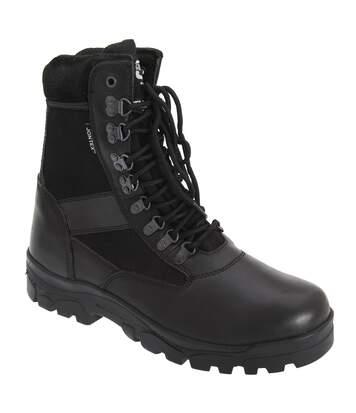 Grafters Mens Sniper 8 Combat Boots (Black) - UTDF658