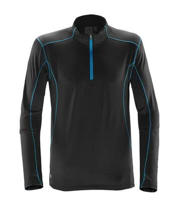 Stormtech Mens Pulse Fleece Pullover (Black/Bright Red) - UTBC4121