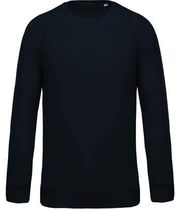 Sweat shirt coton bio - Homme - K480 - bleu marine