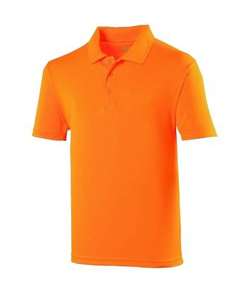 Just Cool Mens Plain Sports Polo Shirt (Electric Pink) - UTRW691