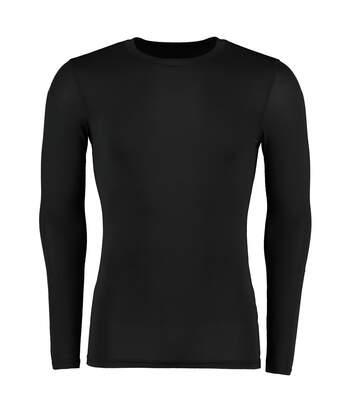 Gamegear® Mens Warmtex® Long Sleeved Base Layer / Mens Sportswear (Black) - UTBC438