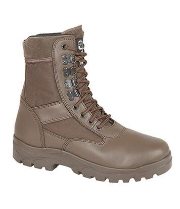 Grafters Mens G-Force Thinsulate Lined Combat Boots (Brown) - UTDF704