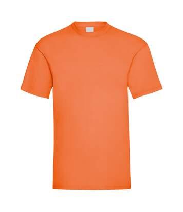 Mens Value Short Sleeve Casual T-Shirt (Bright Orange) - UTBC3900