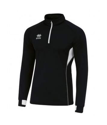 Errea - Haut De Sport Zippé - Mixte (Noir / blanc) - UTPC3272