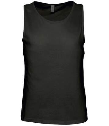 t-shirt débardeur pour homme - 11465 - noir