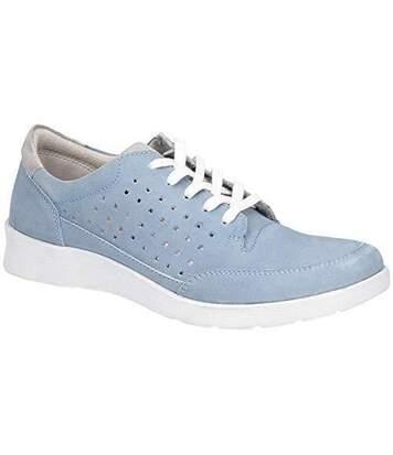 Hush Puppies - Chaussures Molly - Femme (Bleu) - UTFS6034