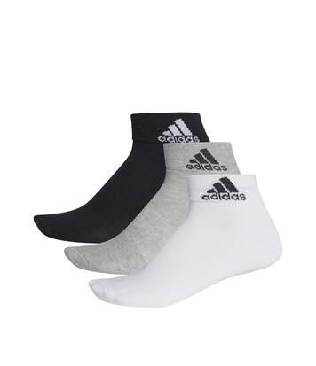 Chaussettes Sport Gris Homme Femme Adidas