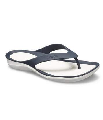 Crocs - Tongs Swiftwater - Femme (Bleu marine/blanc) - UTFS6332